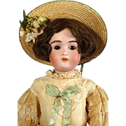 Antique German bisque head doll J. D. Kestner 197