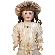 French antique SFBJ bisque head doll 301