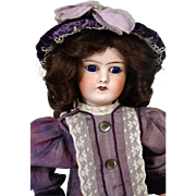 French Antique Bisque Head Doll J. Balleroy
