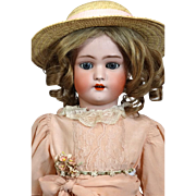 Antique German Bisque Head Doll Simon & Halbig S & H 1078