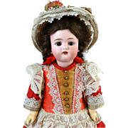 Antique German Bisque Head Doll Kammer & Reinhardt K & R 192