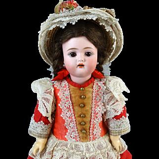 Antique German Bisque Head Doll Kammer & Reinhardt K & R 192