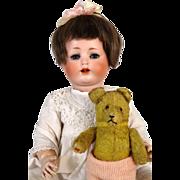 Antique German Bisque Head Doll Bebe Elite Max Handwerck