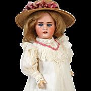 Rare Antique German Bisque Head Doll Simon & Halbig S&H 979