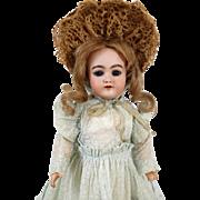 Antique German Bisque Head Doll by Heinrich Handwerck HH 79