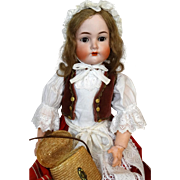Antique German Bisque Head Doll Kammer & Reinhardt K&R 403