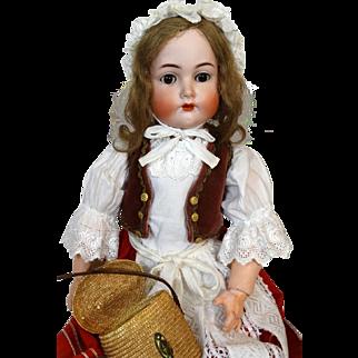 Antique German Bisque Head Doll Kammer & Reinhardt K&R 403