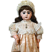 French Antique Bisque Head Doll Jumeau 11