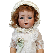 Antique German Bisque Head Doll Kammer & Reinhardt K&R 121