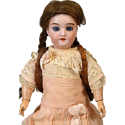 Antique German Bisque Head Doll Kley & Hahn 282 Walkure