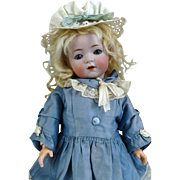 Antique German Bisque Head Doll Kammer Reinhardt 121