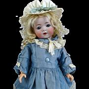 Antique German Bisque Head Doll Kammer Reinhardt 121