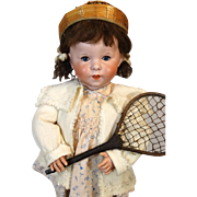 Antique French Bisque Head Doll SFBJ 247
