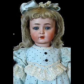 Antique German Bisque Head Doll Kammer & Reinhardt K&R 117n