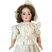 Antique French Bisque Head Doll Lanternier Limoges
