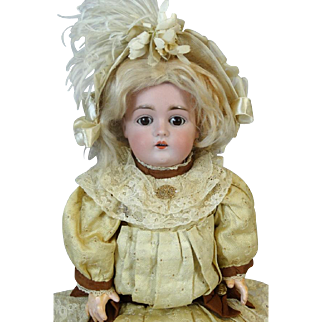 Antique German Bisque Head Doll Kestner JDK 167