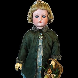 Antique German Bisque Head Doll Cuno & Otto Dressel COD 1912