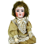 Antique German Bisque Head Doll Simon & Halbig