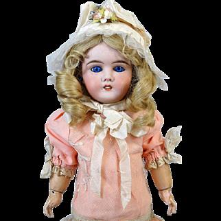 Antique French Bisque Head Doll Louis Leon Prieur
