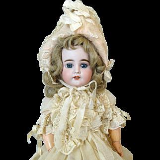 French Antique Bisque Head Doll Fleischmann & Bloedel
