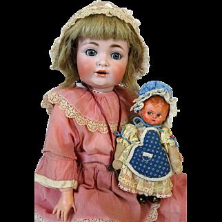Antique German Bisque Head Doll Kestner JDK 260
