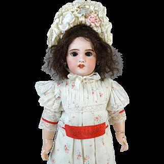 French Antique Bisque Head Doll SFBJ Jumeau