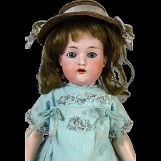 Antique German bisque head doll Bruno Schmidt