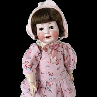 Antique German bisque head doll Konig & Wernicke 170