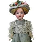 Antique German Bisque Head Doll Johann Daniel Kestner JDK 171