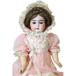 Antique German Bisque Head Doll Kammer & Reinhardt K&R 192