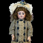 Antique German Bisque Head Doll Simon & Halbig 739
