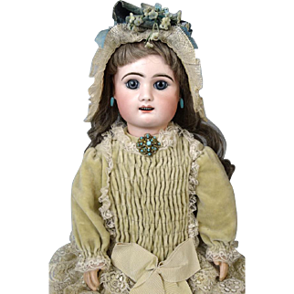 French Antique Bisque Head Doll Rabery & Delphieu