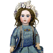 French Antique Bisque Head Doll Jumeau 10