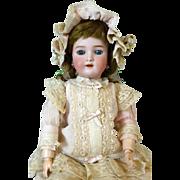Antique German Bisque Head Doll Heinrich Handwerck S&H HH