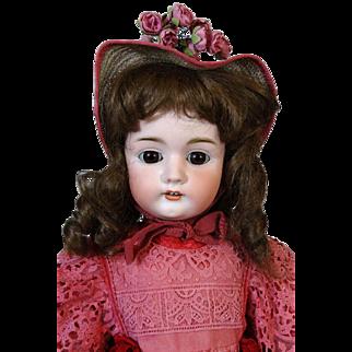 Antique German Bisque Head Doll Bahr & Proschild BP 478