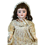 French Antique Bisque Head Doll SFBJ