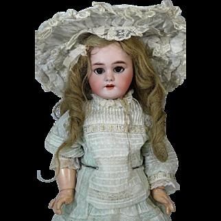Antique French Bisque Head Doll Jumeau DEP 8