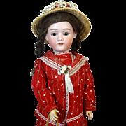 Antique German Bisque Head Doll Max Handwerck