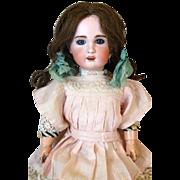 Rare French Antique Bisque Head Doll Heubach Jumeau 1907