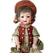 Antique German Bisque Head Doll Ernst Heubach 267