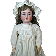 Antique German Bisque Head Doll Heinrich Handwerck SH HH