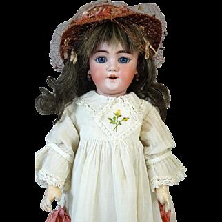 Antique German Bisque Head Doll Heinrich Handwerck HH 109