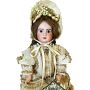 French Antique Bisque Head Doll Jumeau 1907