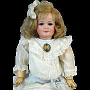 Antique German Bisque Head Doll Armand Marseille AM 550