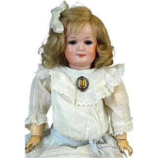 Antique German Bisque Head Doll Armand Marseille AM 550