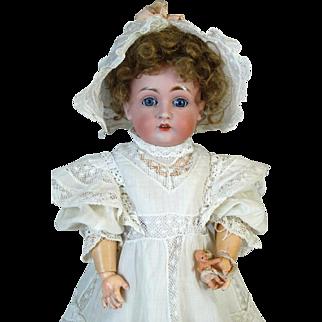 Antique German Bisque Head Doll Johann Daniel Kestner JDK 167