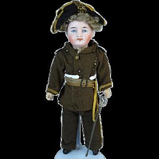 Antique German Bisque Head Doll Belton Type