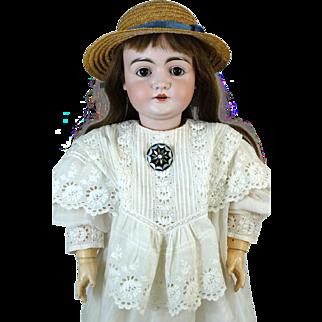 Antique German Bisque Head Doll Johann Daniel Kestner JDK 146
