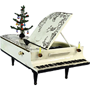 Gorgeous Antique German Doll Grand Piano Music Box
