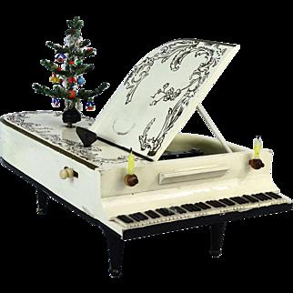 Gorgeous Antique German Doll Grand Piano Music Box
